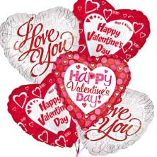 Val Day Balloons