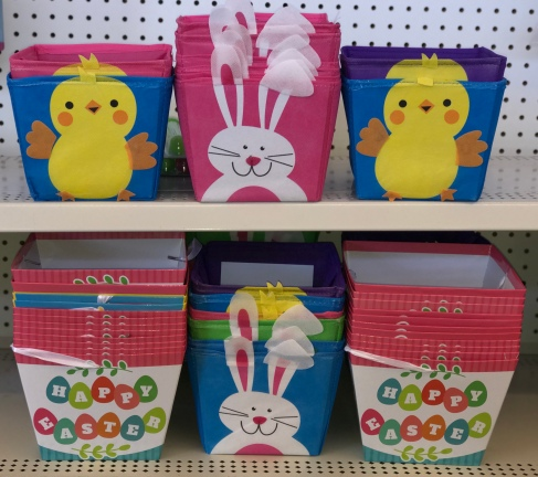 Dollar Tree Easter Baskets