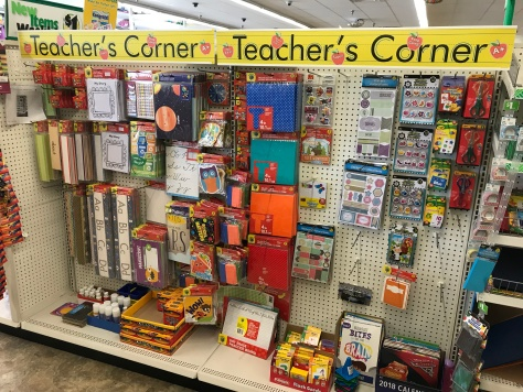 Dollar Tree Teacher's Corner