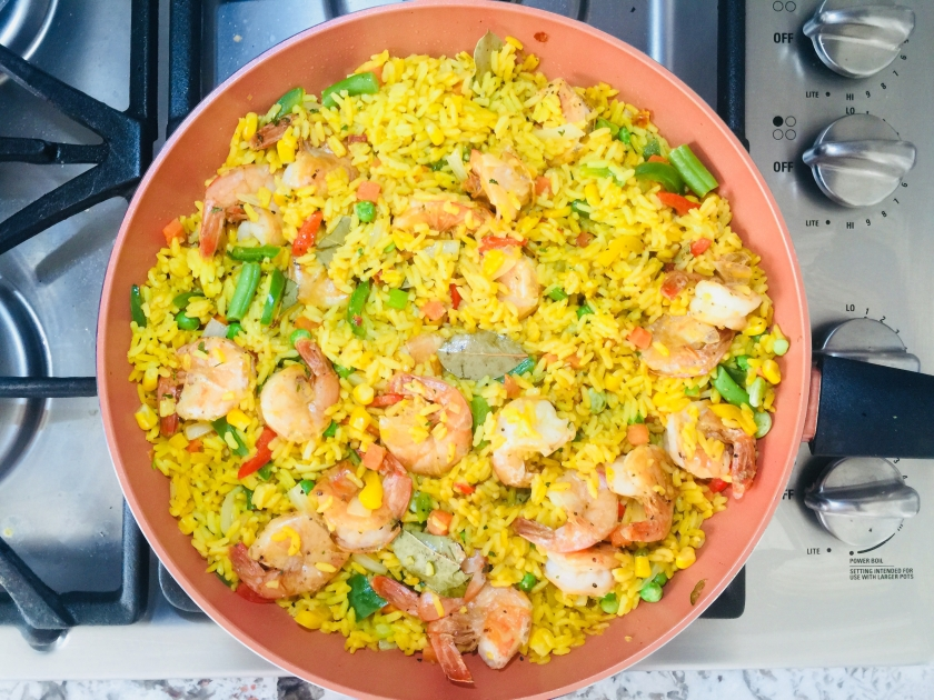 Paella Peparation