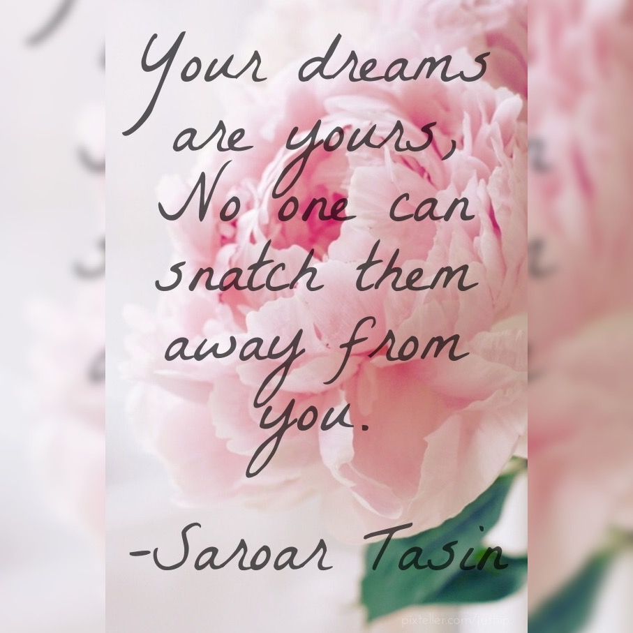 Hold On To YourDream!!!!